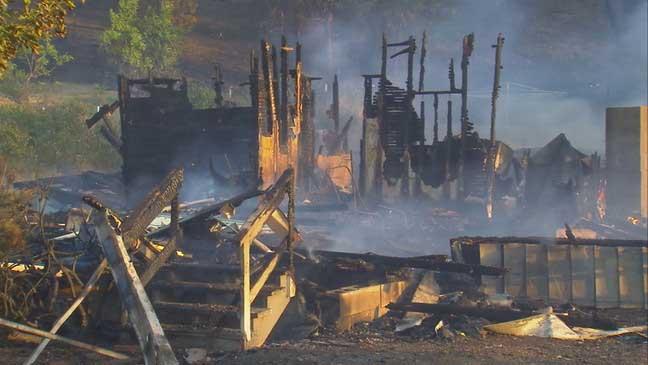 My burned home in Maldem